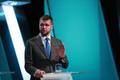Leaders and deputy leaders of the five Riigikogu parties on Sunday's 'Esimene stuudio'.