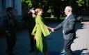 Kersti Kaljulaid meeting Alar Karis at Kadriorg after the latter was elected president on August 31.