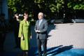 Kersti Kaljulaid meeting Alar Karis at Kadriorg on Tuesday.