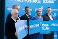 Erakond Isamaa esinumbrid Tallinnas KOV valimistel, esiplaanil Mihkel Mutt
