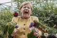 Angela Merkel külastas Saksamaa parlamendivalimiste eel Marlow' linnuparki.