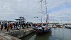 Purjelaev Admiral Bellingshausen jõudis Arktikast tagasi Roomassaarde