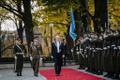 President Alar Karis' inauguration on October 11, 2021.