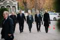 Heads of state reception at Kadriorg Art Museum in Tallinn.