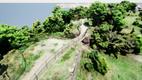 Maarjamäe plaekindi servale kavandatava silla ja vaateplatvormi võimalik eskiis