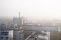 Высотки в тумане.