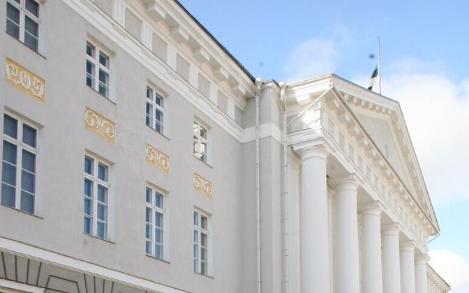 The University of Tartu main building
