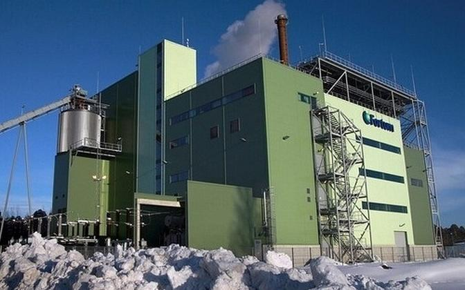 Fortumi Pärnu koostootmisjaam.