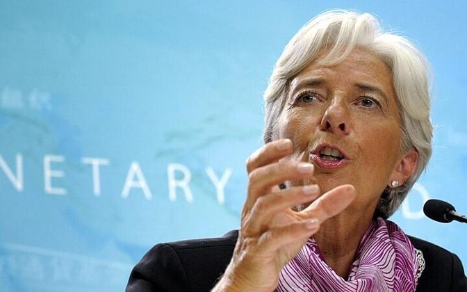 Гендиректор МВФ Кристин Лагард.