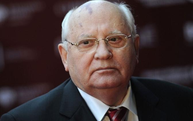 Бывший президент СССР Михаил Горбачев.