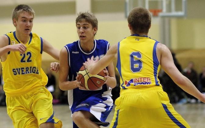 Eesti U16 koondise liider Karl-Robin Jürjens