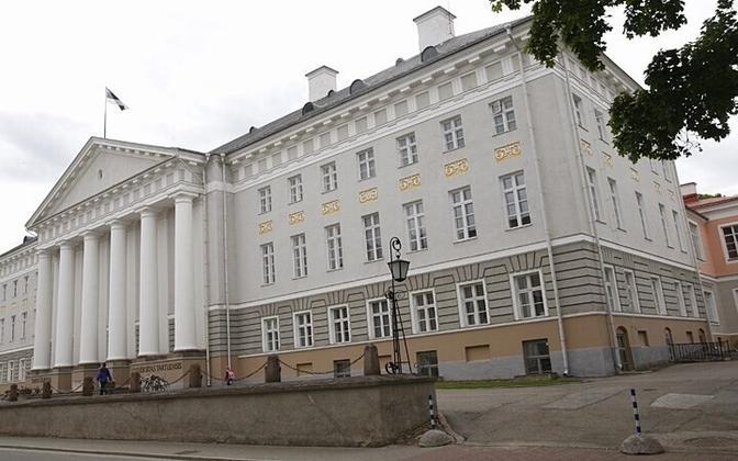 Тартуский университет - это старейший вуз страны.