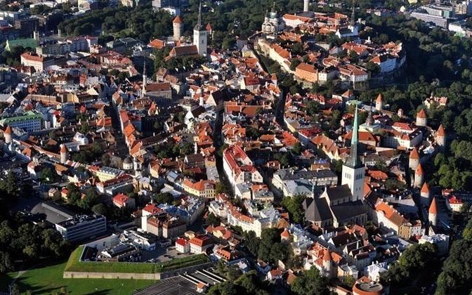 Vaade Tallinna vanalinnale Postimees/Scanpix