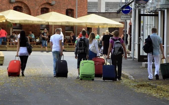 После Таллинна Пярну - второй по популярности у туристов город Эстонии.