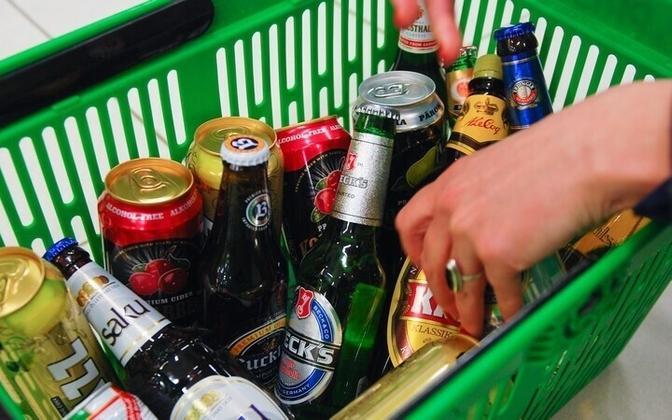 Жители Эстонии любят алкоголь.