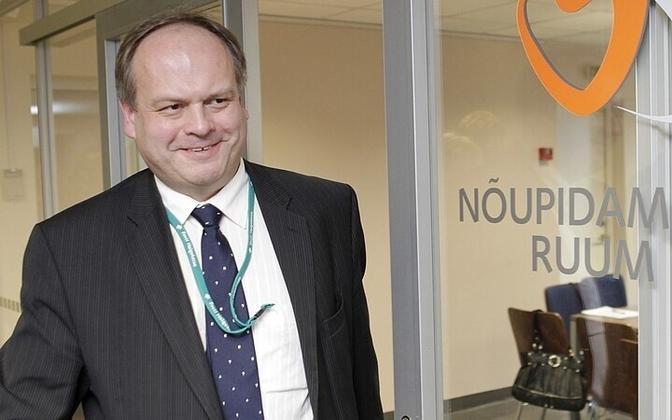 Haigekassa juhatuse esimees Tanel Ross jätkab vähemalt 30. septembrini.