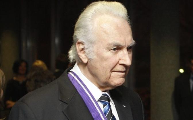 Former president Arnold Rüütel