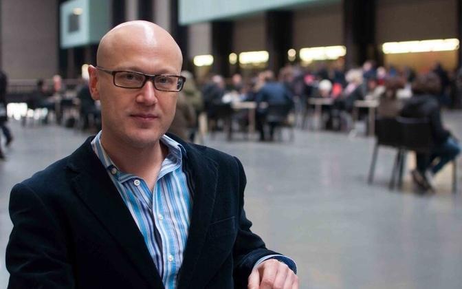 Estonian World editor-in-chief Silver Tambur.