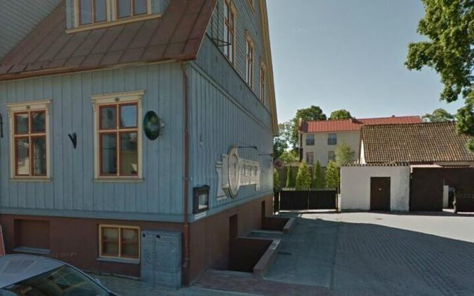 Здание, в котором произошел пожар.
