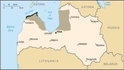 Liivlased elavad peamiselt Lätis.