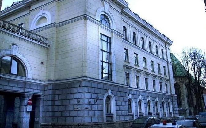 The Interior Ministry on Pikk Street in Central Tallinn.