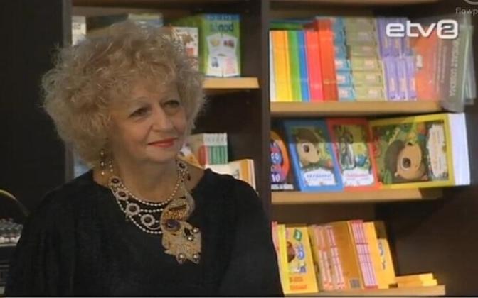 Писатель Елена Скульская.