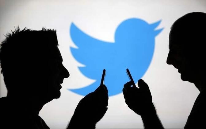Siluetid Twitteri logo ees.