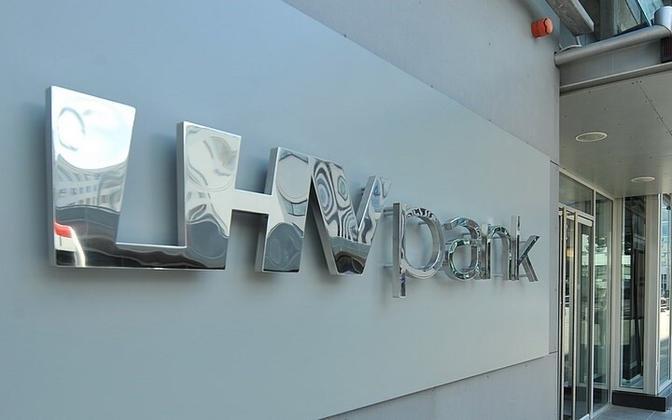 LHV Pank logo.