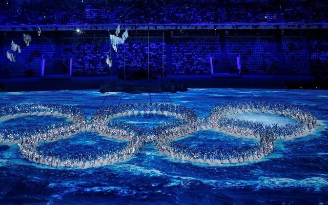 Sotši olümpiamängude lõputseremoonia