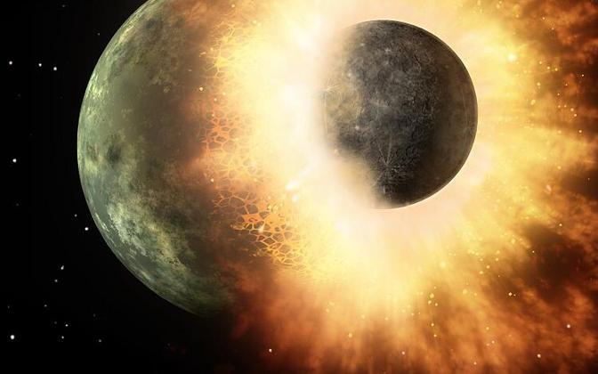 Kokkupõrge röövis Merkuurilt massi.