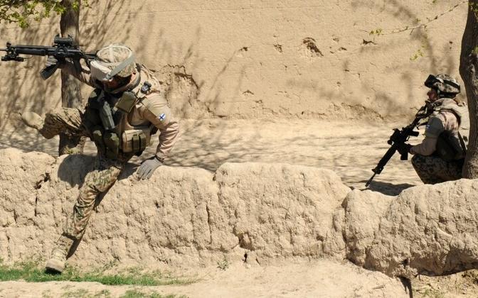 Soome kaitseväe üksused on teeninud NATO missioonidel muu hulgas Afganistanis.