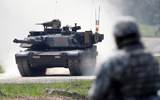 USA tank M1A2 SEP Abrams