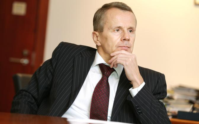 MP Jürgen Ligi (Reform) was serving as