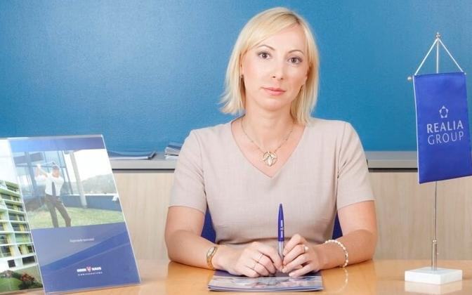 Юлия Юурик, маклер агентства недвижимости Ober-Hausi Kinnisvara AS