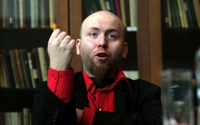 Lugeja ja luuletaja Jürgen Rooste