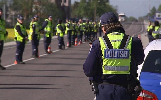 Politsei puhumisreid.