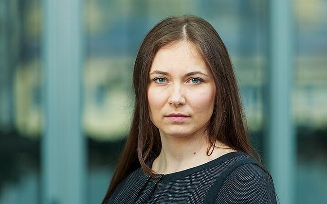 Bank of Estonia economist Orsolya Soosaar.