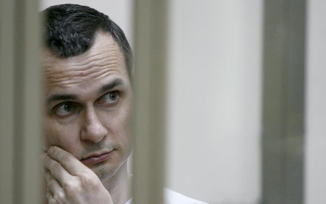 Oleg Sentsov 21. juulil kohtusaalis