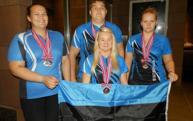 Vasakult: Kai Pähkel, Toomas Braun, Mari-Liis Mihkelson ja Pathricia Matso