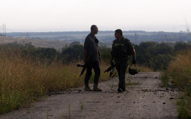 Ukraina sõdurid Luganski oblastis