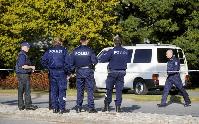 Soome politseinikud