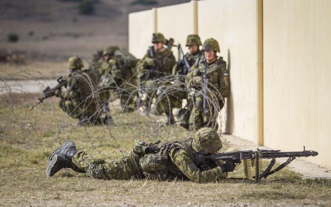 The unit to deploy to Afghanistan will consist of members of the EDF's professional Scouts Battalion.