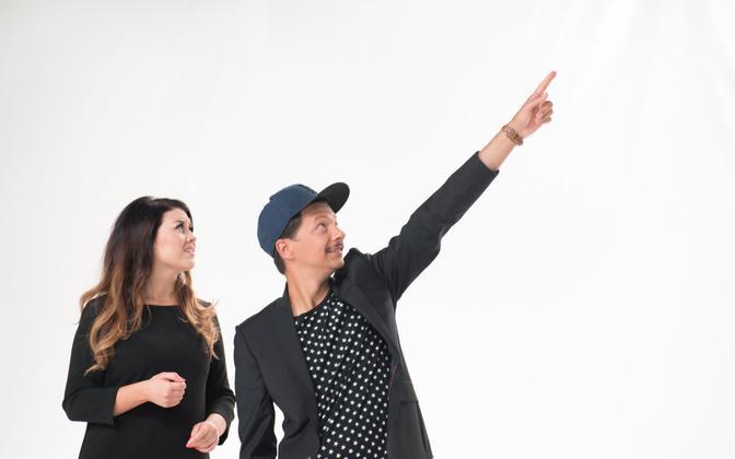 Eesti Laul winners 2015 Elina Born and Stig Rästa