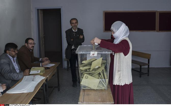 Türgi parlamendivalimised.