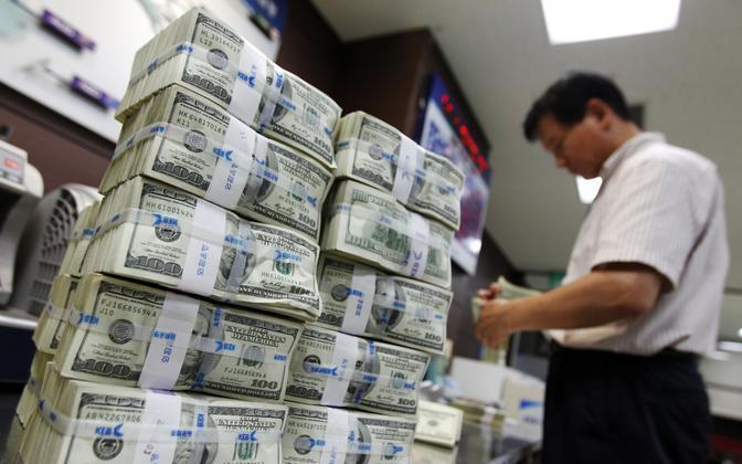 Dollaripakid: pilt on illustreeriva tähendusega