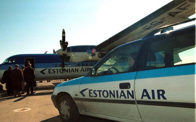 Estonian Air 1999. aastal.