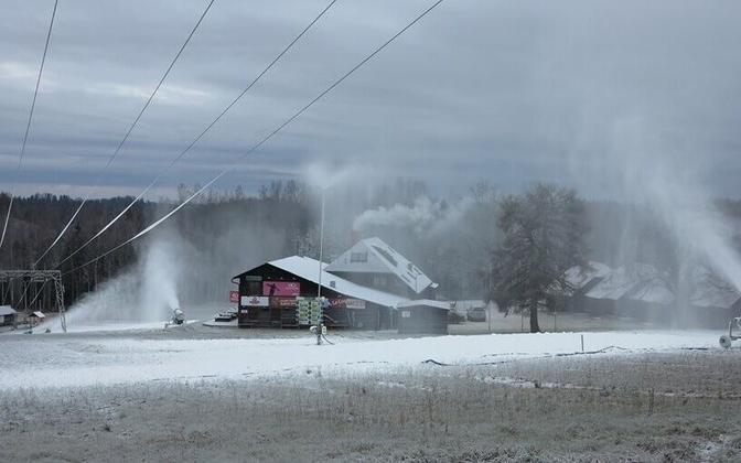Kuutsemäe ski center.