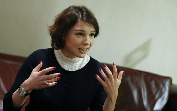 Zhanna Nemtsova.