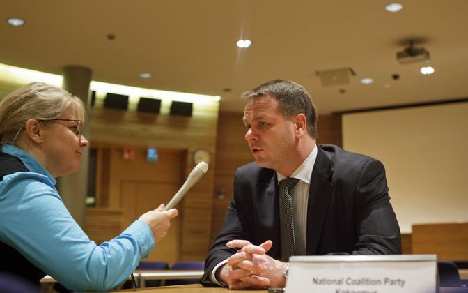 Soome endine majandusminister ja Euroopa Investeerimispanga asepresident Jan Vapaavuori