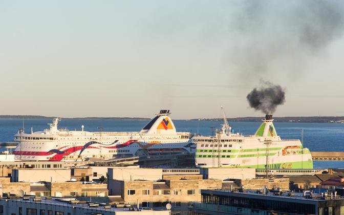 Tallinn Passenger Port.